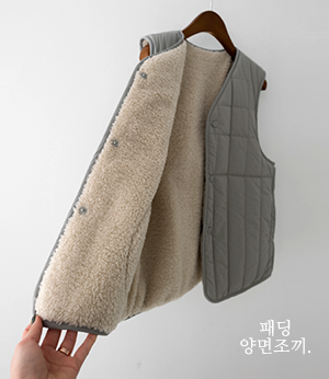 seraphic both sides vest[베스트ARE10] 2color_free size안나앤모드