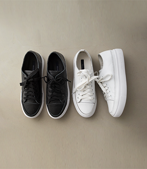 simple  cowhide sneakers [슈즈APP66] 2color_5size안나앤모드