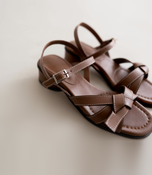 yuliel leather strap sandal[슈즈AYD37] 2color_6size안나앤모드