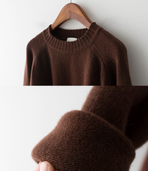 softbasic woolcashmere knit[니트AQE87] 4color_free size안나앤모드