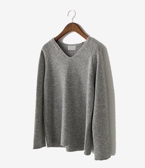 wool cashmere v knit[니트ASD32] 4color_free size안나앤모드
