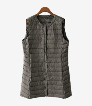 winter goose long vest[패딩AQR42] 3color_3size안나앤모드