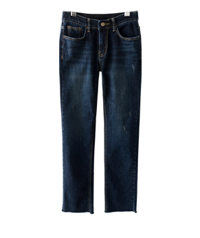 cherish gimo straight jean[데님AQ463] one color_4size안나앤모드