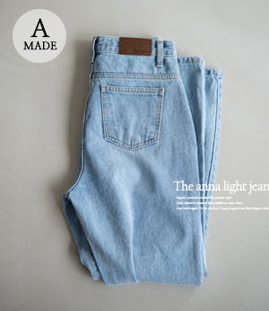 the anna light jean[데님BGH73] one color_3size안나앤모드