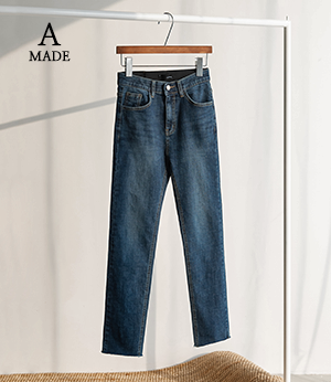 A. mons slim gimo straight jean[데님BQE21] one color_3size안나앤모드