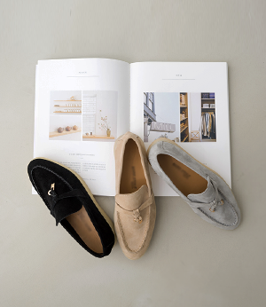 sheepskin suede loafer[슈즈APF48] 3color_5size안나앤모드